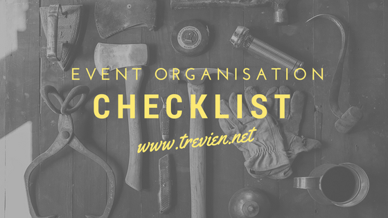 What's on your event organisation checklist?