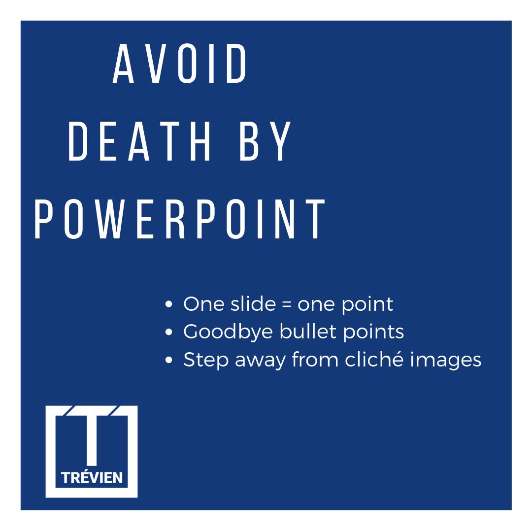 avoid death by powerpoint