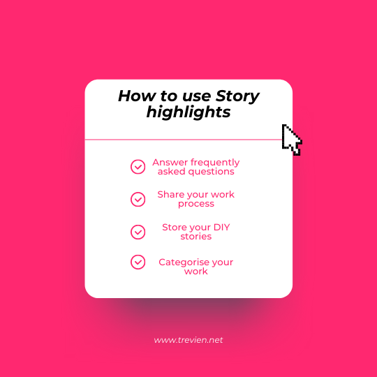 how to use story highlights instagram